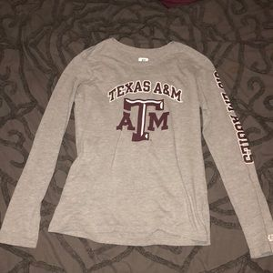 Gray  Texas A and M long sleeve